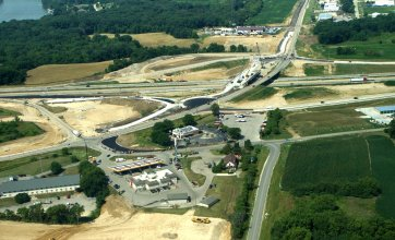 I90 & Highway 59 Interchange - Rock River Bridges - Newville, WI