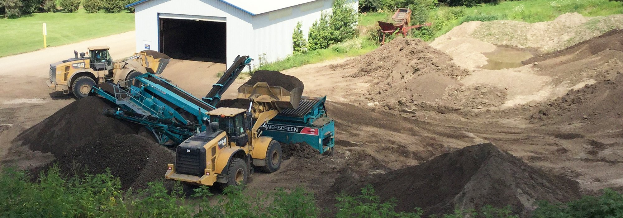 Excavating Topsoil and Topsoil Warehouse
